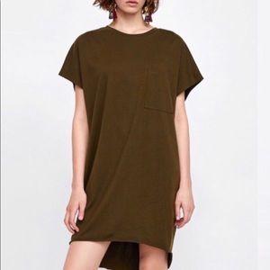 ZARA over sized tees/tee dresses
